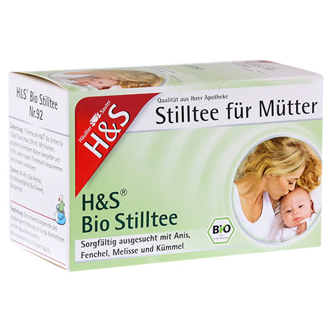 H&S Bio Stilltee Filterbeutel 20 Stück