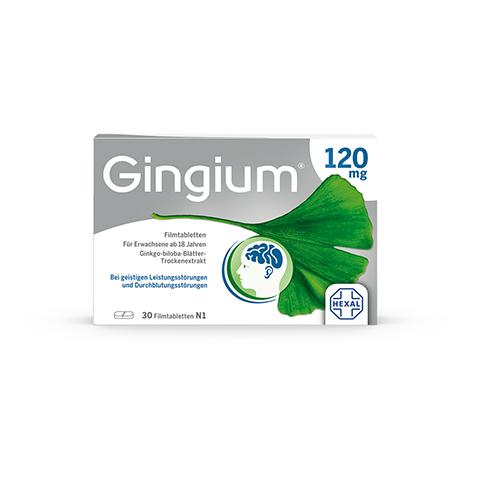 Gingium 120mg 30 Stück N1