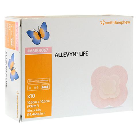 ALLEVYN Life 10,3x10,3 cm Silikonschaumverband 10 Stück