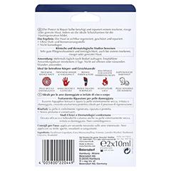 EUCERIN Aquaphor Protect & Repair Salbe + gratis Eucerin Aquaphor Mini 4 ml 2x10 Milliliter - Rückseite