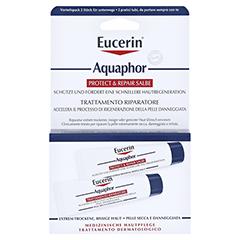 EUCERIN Aquaphor Protect & Repair Salbe 2x10 Milliliter - Vorderseite