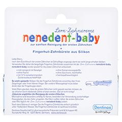 NENEDENT-baby Zahnpflege Set 20 Milliliter - Rückseite