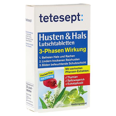 TETESEPT Husten & Hals Lutschtabletten 20 Stück