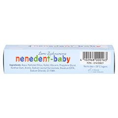 NENEDENT-baby Zahnpflege Set 20 Milliliter - Unterseite