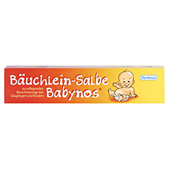 BÄUCHLEIN Salbe Babynos 50 Milliliter - Vorderseite