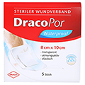 DRACOPOR waterproof Wundverband 8x10 cm steril 5 Stück
