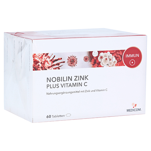 NOBILIN Zink Plus Vitamin C Tabletten 4x60 Stück