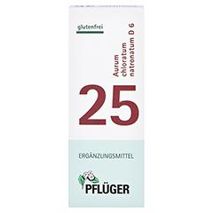 BIOCHEMIE Pflüger 25 Aurum chlorat.natron.D 6 Tab. 100 Stück N1 - Vorderseite