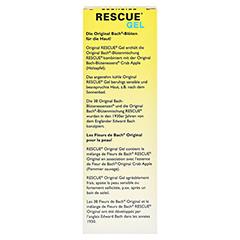BACH ORIGINAL Rescue Gel 30 Gramm - Rückseite