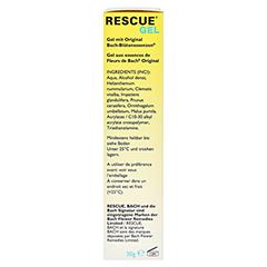 BACH ORIGINAL Rescue Gel 30 Gramm - Rechte Seite