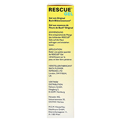 BACH ORIGINAL Rescue Gel 30 Gramm - Linke Seite