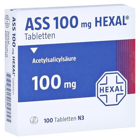 ASS 100mg HEXAL 100 Stück N3