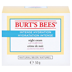 BURT'S BEES Intense Hydration Night Cream 50 Gramm - Vorderseite