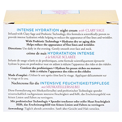 BURT'S BEES Intense Hydration Night Cream 50 Gramm - Rückseite
