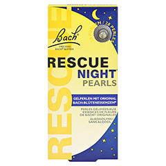 Bach Original Rescue night pearls 28 Stück - Vorderseite