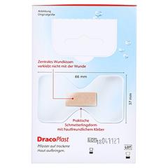 Dracoplast Waterproof Fingerkuppenpflaster 10 Stück - Rückseite