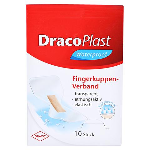 Dracoplast Waterproof Fingerkuppenpflaster 10 Stück