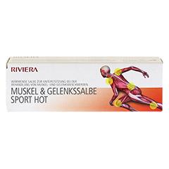 RIVIERA Muskel & Gelenkssalbe Sport Hot 75 Milliliter - Vorderseite