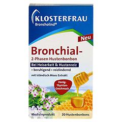 BRONCHOLIND Bronchial-2-Phasen Hustenbonbons 20 Stück - Vorderseite