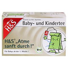 H&S Atme sanft durch Bio Baby- und Kindertee 20 Stück - Vorderseite