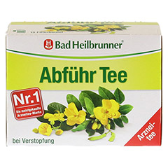 Bad Heilbrunner Abführ Tee 15 Stück - Vorderseite