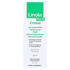 Linola plus Creme 50 Milliliter - Vorderseite