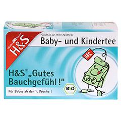 H&S Bio Baby- u.Kindertee Gutes Bauchgefühl Fbtl. 20x2.0 Gramm - Vorderseite