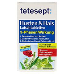 TETESEPT Husten & Hals Lutschtabletten 20 Stück - Vorderseite