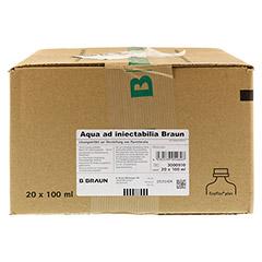 AQUA AD injectabilia Ecoflac Plus Inj.-Lösung 20x100 Milliliter N3 - Vorderseite