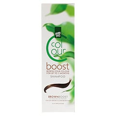 HENNAPLUS Colour Shampoo Boost brown 200 Milliliter - Vorderseite