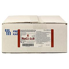 ISOTONISCHE Kochsalzlösung Fresenius freeflex 10x250 Milliliter N2 - Vorderseite
