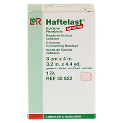 HAFTELAST Fixierb.kohäs.latexfrei 8 cmx4 m creme 1 Stück - Vorderseite