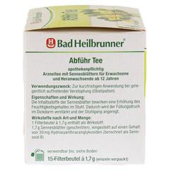 Bad Heilbrunner Abführ Tee 15 Stück - Linke Seite