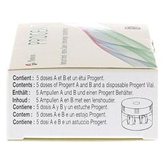 PROGENT Intensivrein.f.formstab.Kontaktlinsen Amp. 5 Stück - Linke Seite