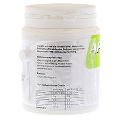 APO CREATIN mit Messlöffel ca.0,6 g Pulver 500 Gramm - Linke Seite