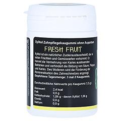 KAUX Zahnpflegekaugummi Fresh Fruit mit Xylitol 40 Stück - Rechte Seite