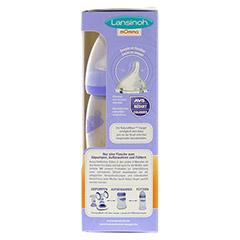 LANSINOH Weithalsflaschen 2x240 ml Sauger M 2 Stück - Rechte Seite