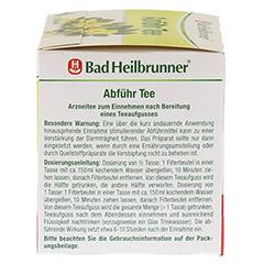Bad Heilbrunner Abführ Tee 15 Stück - Rechte Seite