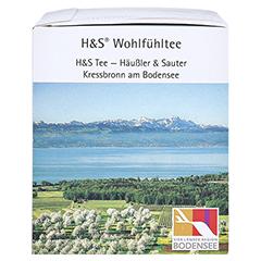 H&S heißer Holunder Vitaltee Filterbeutel 20 Stück - Rechte Seite