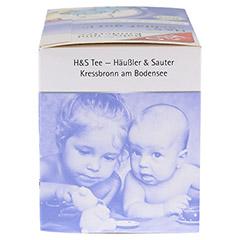 H&S Bio Schlaf gut Baby- und Kindertee Filterbeut. 20 Stück - Rechte Seite