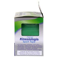KINESIOLOGIE Sport Tape 5 cmx5 m grün 1 Stück - Rechte Seite