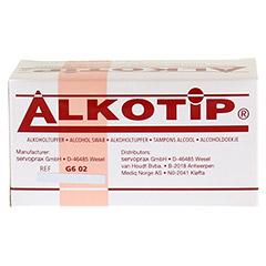 ALKO TIP Alkoholtupfer 100 Stück - Rückseite