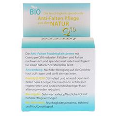 LAVERA basis sensitiv Feuchtigkeitscreme Q10 dt 50 Milliliter - Rückseite