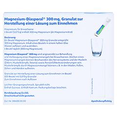 MAGNESIUM DIASPORAL 300 mg Granulat 100 Stück N3 - Rückseite