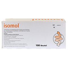 ISOMOL Plv.z.Herst.einer Lösung zum Einnehmen 100 Stück - Rückseite