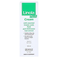 Linola plus Creme 50 Milliliter - Rückseite