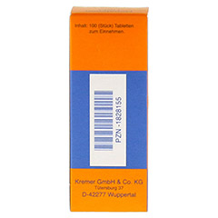 HEPATIMON HKM Tabletten 100 Stück N1 - Rückseite