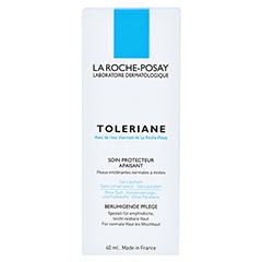 ROCHE POSAY Toleriane Creme + gratis La Roche Posay Toleriane Dermo-Cleanser 40 Milliliter - Rückseite