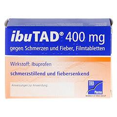 IbuTAD 400mg gegen Schmerzen und Fieber 50 Stück N3 - Rückseite