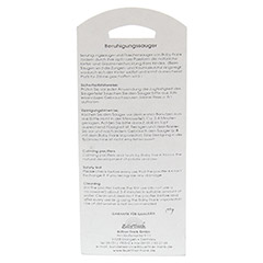 SAUGER Einschlaf Kirsche Latex o.Ring 6-18 M.pink 1 Stück - Rückseite
